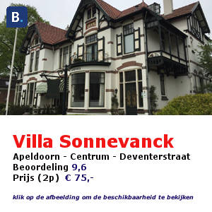 bed and breakfast apeldoorn villa sonnevanck
